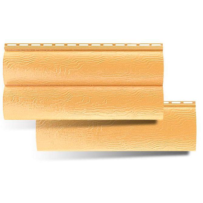 Сайдинг Альта-Профиль Blockhouse Золотистый