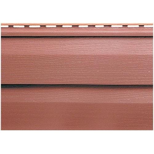 Сайдинг Альта-Профиль Kanada плюс премиум Красно-коричневый
