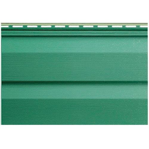 Сайдинг Альта-Профиль Kanada плюс премиум Зеленый