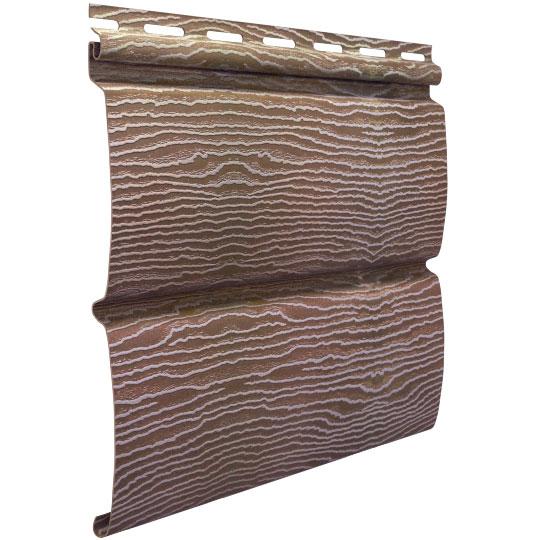 Сайдинг Ю-пласт Timberblock Дуб натуральный